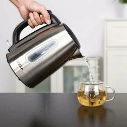 Aicok Electric Kettle Premium 304 Stainless Steel 1.7L 1500W