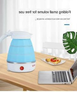 Electric kettle small appliances folding travel silica gel m