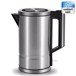 Electric Kettle Stainless Steel Coffee Tea Hot Water Maker 1