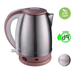 Almart 1.8 Liter Electric Kettle Stainless Steel Tea Kettle