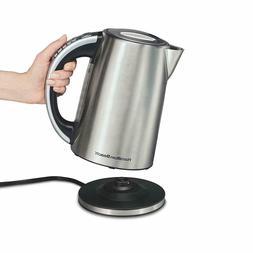 Hamilton Beach Electric Kettle, Tea And Hot Water Heater, Va
