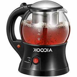 Electric Kettle, Tea Infuser, Small Glass Pot, Cordless, Kee