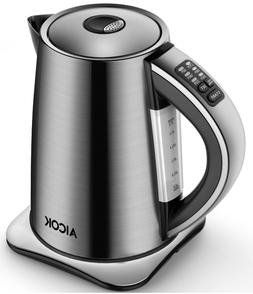 AICOK Electric Kettle Variable Temperature Stainless Steel T