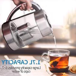 2in 1 Electric Kettle With Tea Infuser Teapot for Loose Leaf