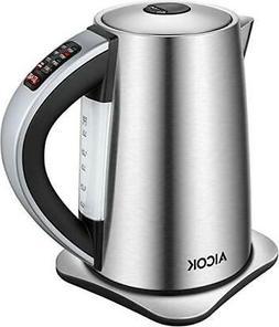 Aicok Electric Stainless Tea Kettle Server Cordless KE7466TJ