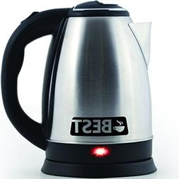 Best Electric Tea Kettle, Version 2.0 Stainless Steel 2.0L C
