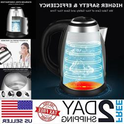 electric tea kettle hot water stainless steel