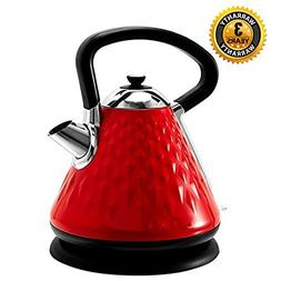 Electric Tea Kettle Stainless Steel SVVSS Fast Boiling Water