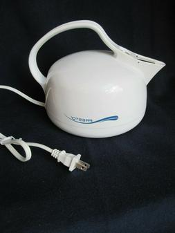 PRESTO ELECTRIC TEA KETTLE WHISTLING