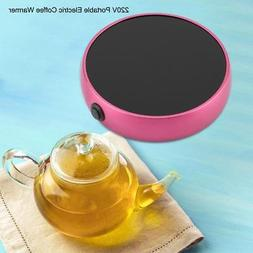Electric Tray Coffee Hot Tea Drink Warmer Cup Heater Beverag