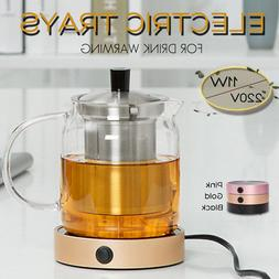 Silent Electric Tray Coffee Tea Drink Warmer Cup Heater Beve