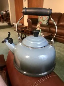 Le Creuset Enamel-on-Steel Whistling 1.7 Quart Teakettle, Sk