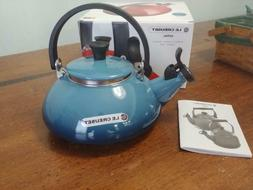 Le Creuset Enamel On Steel 1.6 Qt. Zen Tea Kettle Color, Mar