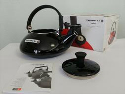 Le Creuset Enamel On Steel 1.6 Qt. Zen Tea Kettle Color, BLA
