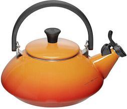 Le Creuset Enamel On Steel 1.6 Qt. Zen Tea Kettle Color Flam
