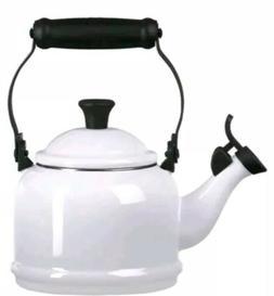 Enamel On Steel 2.2 Qt.  2.1 L Demi Tea Kettle Le Creuset Co