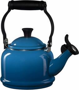 Le Creuset Enamel On Steel Demi Tea Kettle, 1.25 qt., Marsei