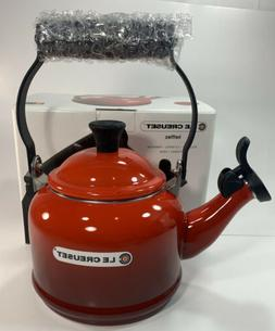 Le Creuset Enamel-on-Steel Demi 1-1/4-Quart Teakettle, Ceris