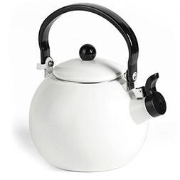Keypro Enamel on Steel Whistling Tea Kettle, 1.5-Quart Maxim