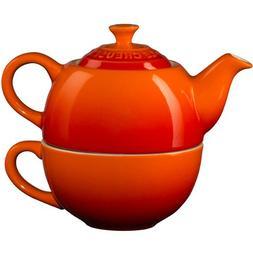 Le Creuset Flame Stoneware Tea for One