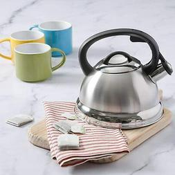 Flintshire Stainless Steel Whistling Tea Kettle, 1.75-Quart,