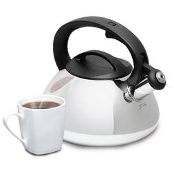 GIBSON MR COFFEE HARPWELL 2 QUART WHISTLING TEA COFFEE KETTL