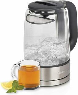 Cuisinart GK-17 1.7L Cordless Glass Electric Kettle - Stainl