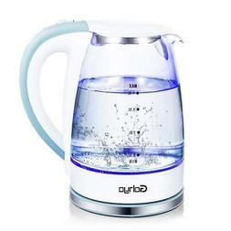 Gohyo Electric Kettle, 1.8-Liter 1500W Glass Electric Tea Ke