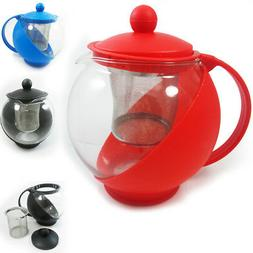 1 Pc Glass Tea Kettle Pot Thermo Teapot Filter Brewer Steep