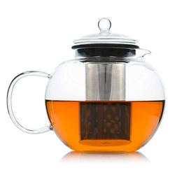 Glass Teapot with Removable Stainless Steel Infuser - Borosi
