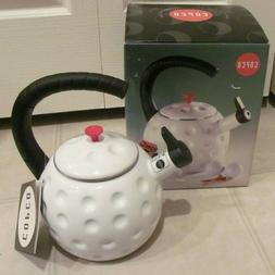 COPCO GOLF SPORTS WHISTLING TEA KETTLE NEW IN BOX