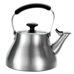 OXO Good Grips Classic Whistle Tea Kettle 1.7 Qt Brushed Sta