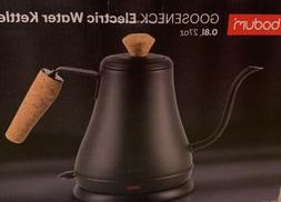Bodum Goose Neck Electric Water Kettle With Decorative Cork