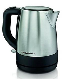 Hamilton Beach 40998 1 L Stainless Steel Electric Kettle Sil