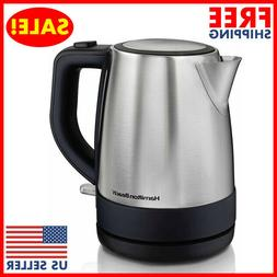 Hamilton Beach Electric Kettle 1L Tea and Hot Water Heater S