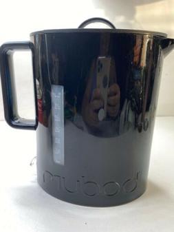 Bodum Ibis Cordless Electric 57-Ounce Water Kettle, Black Ju