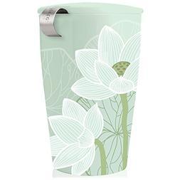 KATI Single Cup Leaf Tea Brewing System Insulated Ceramic Cu