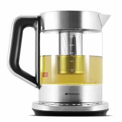 KET-100 Electric Glass Tea Maker Kettle with removable Tea I