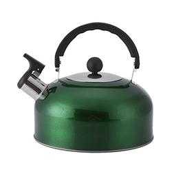 Kettle Stainless Steel Flat Base Bell Sound Pot for Boat Cam