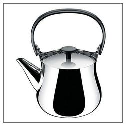 """Alessi """"Cha"""" Kettle/Teapot in 18/10 SS Mirror Polished Handl"""