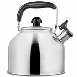 Kettle Whistling Teapot for Stovetop, Stainless Steel Teaket