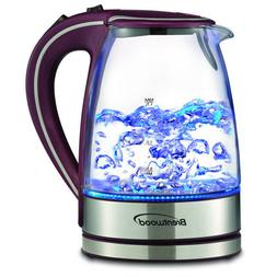 Brentwood Kitchen Glass Cordless Electric Tea / Coffee Kettl