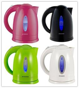 Ovente KP72B Electric Kettle, Illuminated, 1.7L pot , Operat