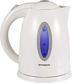 Ovente KP72W 1.7L BPA-Free Electric Kettle, Fast Heating Cor