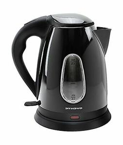 Ovente KS93 1.7L Black Cordless Electric Kettle