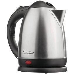 Brentwood KT-1780 Electric Cordless Tea Kettle, 1.5Ltr, Brus