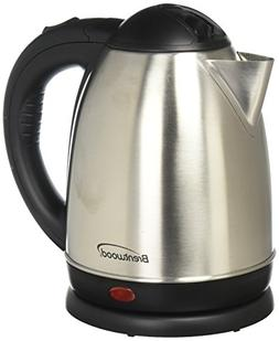Brentwood KT-1780 Stainless Steel Electric Cordless Tea Kett