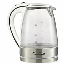 Brentwood KT-1900 Electric White Tea Kettle - 57.48 oz.