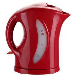 Brentwood KT-1619 1.7-Liter Cordless Tea Kettle, Red by Bren