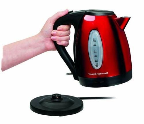 Hamilton Electric for Tea & Coffee Red